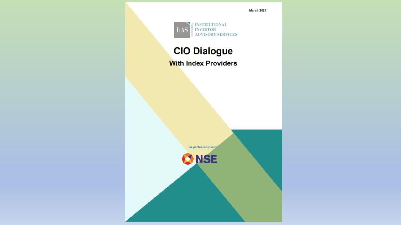 CIO Dialogue  With Index Providers
